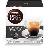 Nescafe Dolce Gusto Espresso Intenso Coffee Capsules - 16 Capsules