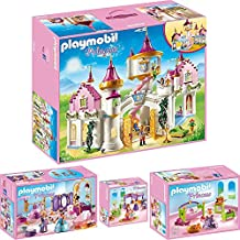 playmobil princess set en 4 parties 6848 6850 6851 6852 princesse chteau salon de beaut chambre cleste chambre - Playmobil Chambres Princesses