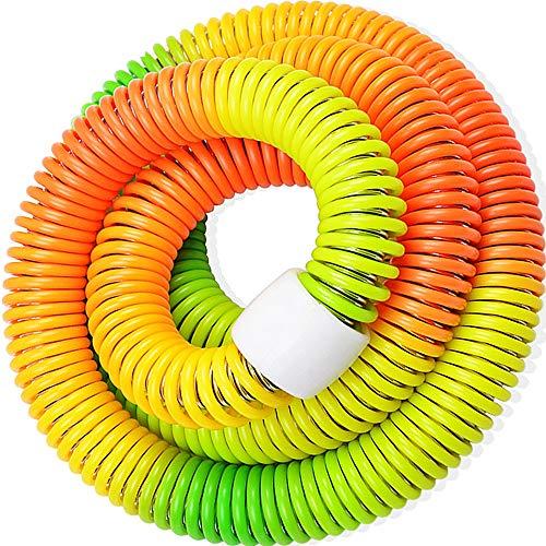ALSGON Hula-Hoop Reifen Erwachsene,2 3 Kg Aus Kunststoff Erwachsene Gewichtet Gewicht Und GrößE Einstellbar Premium-QualitäT Und Weiche Polsterung