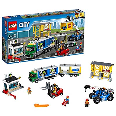 LEGO UK 60169 Cargo Terminal Construction Toy