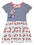 Disney Minnie Mouse Mädchen Minni Maus Kleid 122