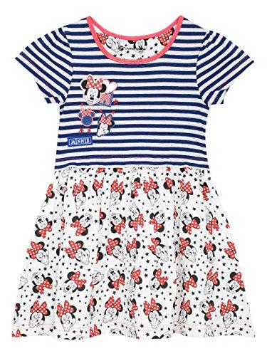 Disney Minnie Mouse Mädchen Minni Maus Kleid 128 Disney Mädchen Minnie Mouse