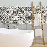 54 (Piezas) Adhesivo para Azulejos 10x10 cm - PS00025 - Horta - Adhesivo Decorativo para Azulejos para baño y Cocina - Stickers Azulejos - Collage de Azulejos