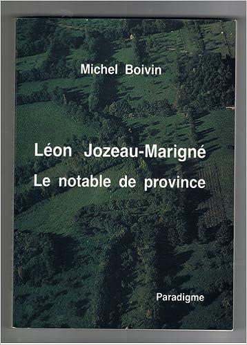 En ligne téléchargement Léon Jozeau-Marigné pdf, epub ebook