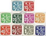 Checoslovaquia 480-489 (completa.edición.) 1945 sellos para periódicos (sellos para los coleccionistas)