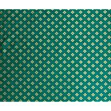 """Brocade Fabric ancha de la blusa decorativo arte de costura verde de la tela 45 """"pulgadas por El Metro"""