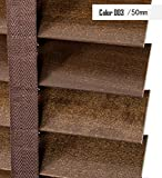 LIQICAI Doble función persianas veneciana madera de tilo, 50 mm ancho tablillas, ancho x caída, disponible en 3 tamaños ( Color : 003-Model B , Tamaño : 100 x 160 cm-3 Set )