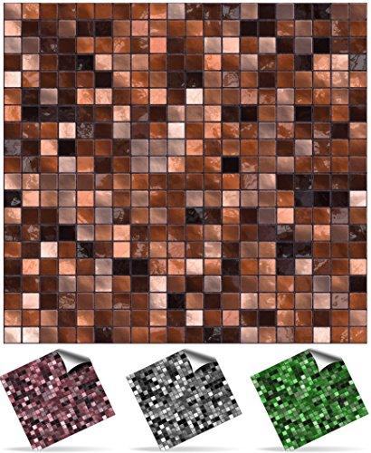 tile-style-decals-modell-2xtp3-6-copper-brown-mosaik-wandfliese-aufkleber-fur-15x15cm-fliesen-fliese