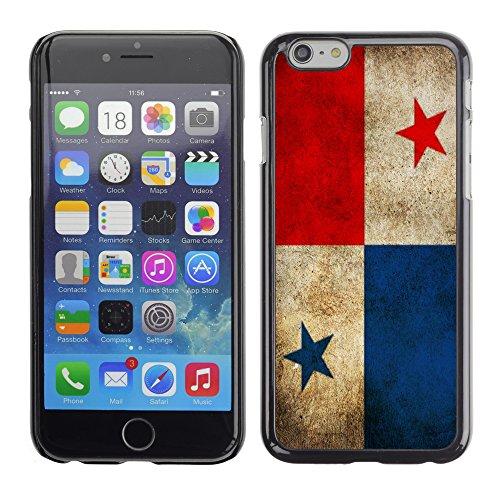 Graphic4You Vintage Uralt Flagge Von Peru PeruanerDesign Harte Hülle Case Tasche Schutzhülle für Apple iPhone 6 Panama Panamaisch