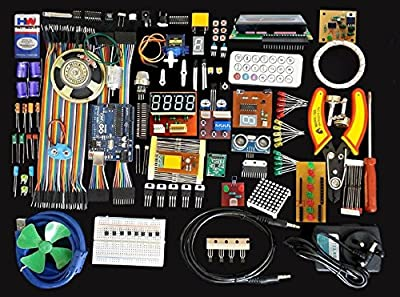 Global Traders Arduino With Sensors And Components Kit