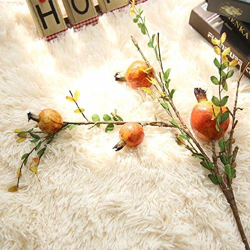 Fiori artificiali di simulazione americano di melograno campagna pastorale squisita decorazione home flower flower, arancione