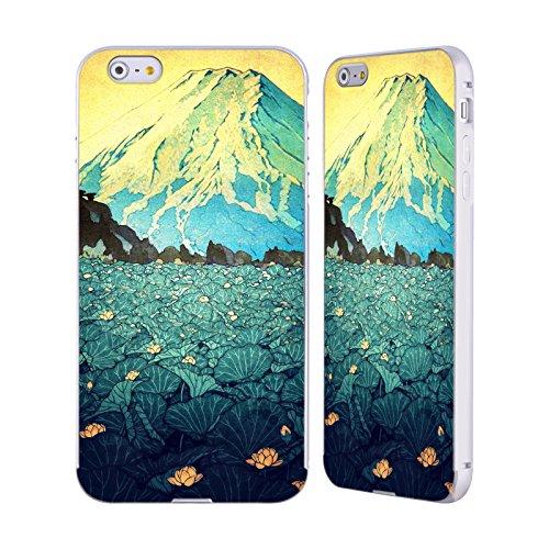 Ufficiale Kijiermono Storms Over Keiisino Arte Asiatica Antica Argento Cover Contorno con Bumper in Alluminio per Apple iPhone 6 Plus / 6s Plus Waddling Through Kennijo Lake