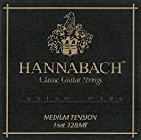 Hannabach Strings for classic guitar Series 728 Medium tension Custom Made 3er Discant 7288MT