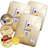 75kg Spielsand Quarzsand TÜV geprüft TOP Qualität 0 - 2 mm Sandkasten (ohne Schaufel)