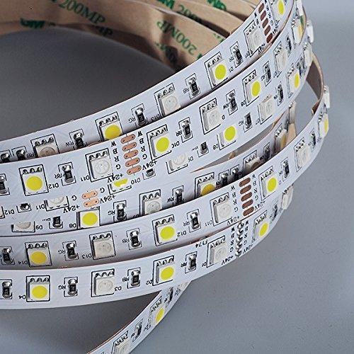 cinta LED flexible RGB+Blanco 121 500CM 24V IP20