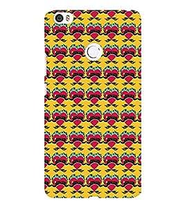 EPICCASE freaky hearts Mobile Back Case Cover For Xiaomi Mi Max (Designer Case)
