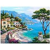 amazingdeal3655d Diamond bordado pintura hermosa Aldea decoración del hogar