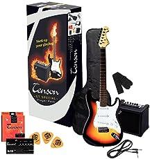 Tenson F502543 E-Gitarre ST Player Pack
