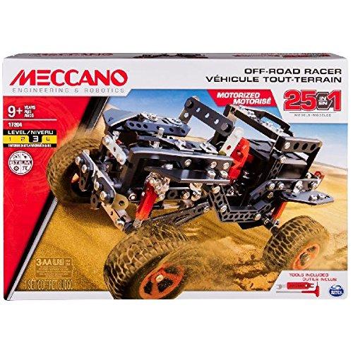 Spin Master 6037616 - Meccano - 25 Modell Set - Offroad Auto