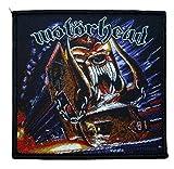 Motörhead Orgasmatron - Parche de Tela, 10x 9,5cm