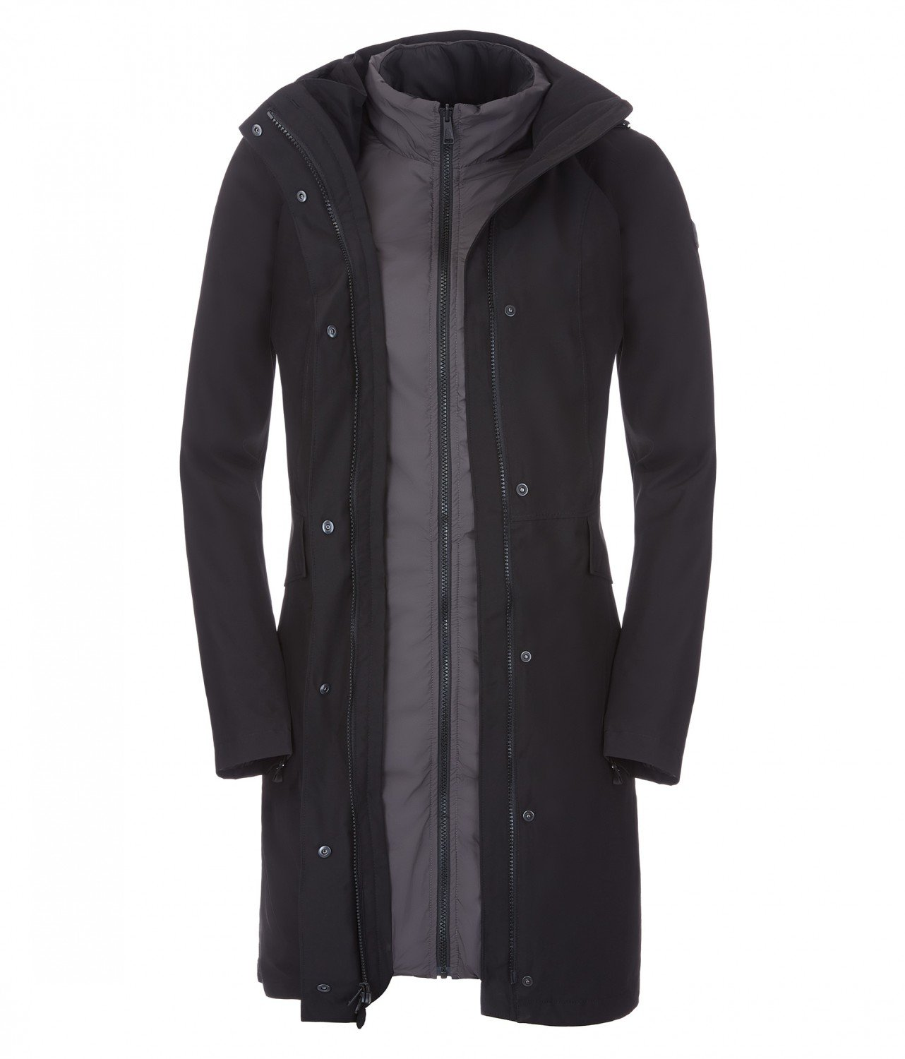 northface long coat