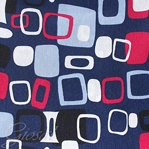 tessuto-arredo-fantasia-quadri-tappezzeria-copritavola-divano-cuscino-giosal-blu-al-metro