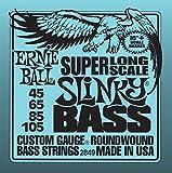 Ernie Ball Super Long Scale Slinky E-Bass Saiten - 45-105 Gauge