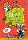 Lillis Blockflöten Spielbuch mit CD: 100 beliebte Kinderlieder zum Spielen und Singen!