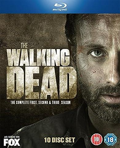 The Walking Dead - Season 1-3 (10 Blu-rays) (UK-Import)