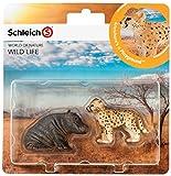 Schleich 21037 - Wild Life Babies, Wildtiere Spielset - Set 2