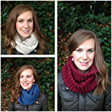 7 Infinity Scarf, Cowl or Snood Knitting Patterns (Easy Weekend Project)