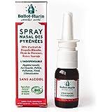 Ballot Flurin - Spray Nasal Pyrénées - Nez bouché - Pollution - Pollen - Hygiène Nasale - Propolis & plantes bio - Fabriqué e