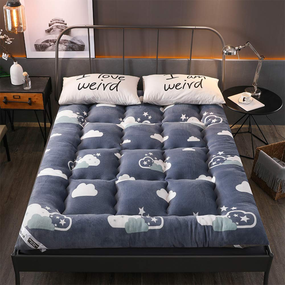 Fine Hmdx Thick Flannel Tatami Floor Mattress Warm Quilted Onthecornerstone Fun Painted Chair Ideas Images Onthecornerstoneorg
