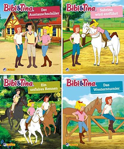 4er Bibi und Tina 29-32 (Nelson Mini-Bücher)