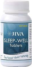 Jiva Ayurveda Sleep-Well Tablets - 120 Tablets (Pack of 2)