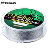 Zorbes PROBEROS 100M Durable Colorful PE 4 Strands Monofilament Braided Fishing Line Angling