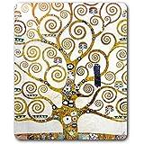Gustav Klimt - El Árbol De La Vida (Detalle) Alfombrilla Para Ratón (23 x 19cm)