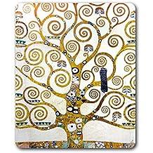 e50655b998 Gustav Klimt - L'Albero della Vita (Dettaglio) Tappetino per Mouse (23