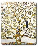 Gustav Klimt - L'Albero della Vita (Dettaglio) Tappetino per Mouse (23 x 19cm)
