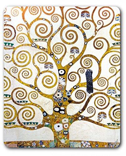 Preisvergleich Produktbild 1art1 88975 Gustav Klimt - Der Lebensbaum (Detail) Mauspad 23 x 19 cm