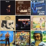 Elton John: The Early Years Collection (1970-1975) - 9 CDs (Tumbleweed Connection / Madman Across the Water / Honky Chateau / Don't Shoot Me / Goodbye Yellow Brick Road / Caribou / & Many More!!!)