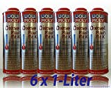 6x LIQUI MOLY 5131 Diesel Fließ-Fit K Winterfest Kraftstoffzusatz Additiv 1L