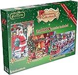 Jumbo Falcon De Luxe Christmas Jigsaw Puzzles (1000-Piece)