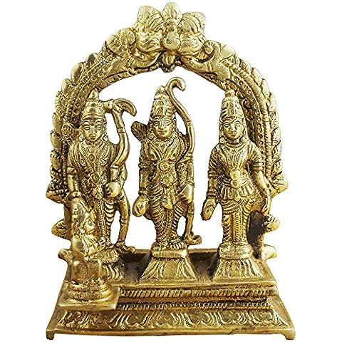 RAM darbar statua - Signore rama laxman
