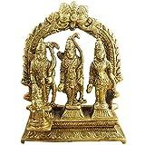 Hindu Gods and Goddesses - Lord Rama Laxman and Sita Religious Indian Art Sculpture - 3.1' x 3' x 1'