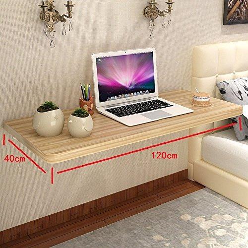 Melamin-klapptisch (Klapptisch YNN Wand Tisch Haushalt Holz Esstisch Tisch Tisch Computer Schreibtisch (größe : 120cm))