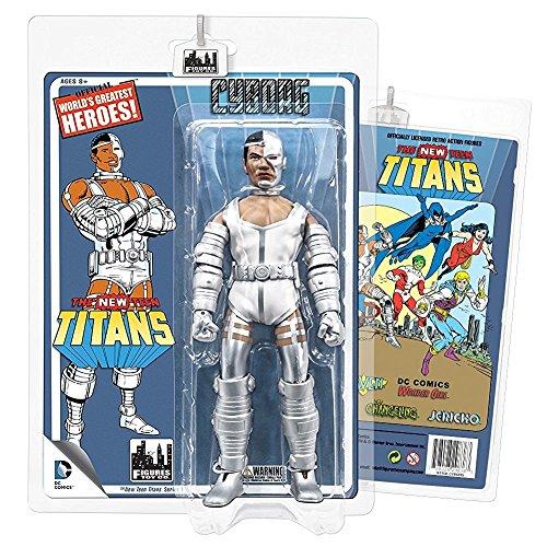 The New Teen Titans Retro 20cm Action Figures Series 1: Cyborg