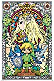 The Legend of Zelda Poster Kirchenfenster (61cm x 91,5cm)
