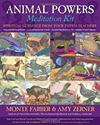 Animal Powers Meditation Kit: Spiritual Guidance from Your Totem Teachers by Monte Farber (2008-04-01)