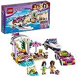 #9: LEGO Andrea's Speedboat Transporter